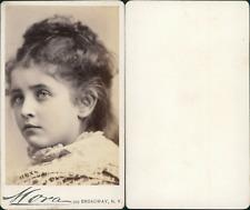 Mora, New York, Anita, actrice  vintage CDV albumen carte de visite,  CDV, tir