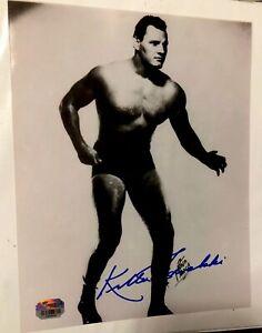 Walter Killer Kowalski autographed PHOTO 8x10 Signed WCW WWE TNA #1 R.I.P.