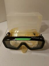 DACOR Deep See Tempered Dual Lens, Dive, Scuba, Snorkel Goggles, + Case