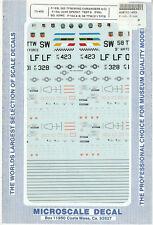 1/72 MicroScale Decals USAF F-16A F-16B Falcon 363 TFW 58 TTW 311 TFTS 72-455