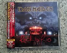 Iron Maiden Live Rock In Rio 2 CD with Sticker Japan Obi TOCP-65948.9