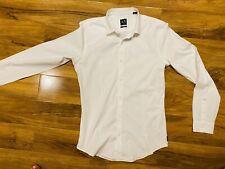 Mens Armani Shirt Super Slim Large !