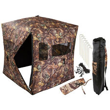 Camouflage Portable Ground Hunting Tent Stealth Deer Hunting and Blind Archery