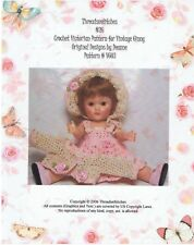 "#26 Crochet Pattern For Ginny 8 "" Dolls Or Similar"