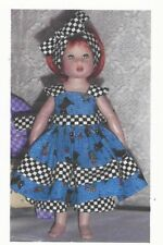 "Sewing Pattern fits 7.5"" doll  Riley Kish Tiny Betsy elf Lati Yellow dolls BJD"