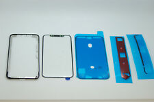iPhone X Front Glass with oca glue,lcd frame,adhesives and water seal adhesive