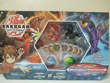 BAKUGAN Battle Planet DRAGONOID NILLIOUS VICEROX PHAEDRUS w/Battle Mat Exclusive