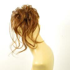 postizo coletero peruk cabello rubio oscuro cobrizo ref: 22 en g27