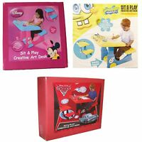 Sit and Draw Creative Art Desk Disney Cars, Minnie Mouse, Spongebob
