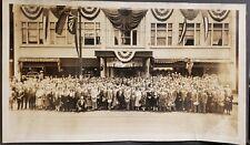 VINTAGE 1930 UKRAINIAN CHICAGO HALSTED BARBER CIGAR BOWLING CAPONE ERA PHOTO