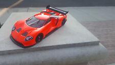 200mm Custom Paint GT40 USGT Sprint2 TT01 Lipo HPI Body 1/10 Drift 4Tec Nitro