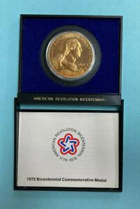 1972 George Washington American Revolution Bicentennial Commemorative Medal
