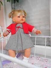 ens robe corolle neuf compatible avec poupée antonio juan, baigneurs 45cm