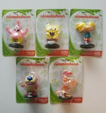 Nickelodeon '90s Ren & Stimpy Spongebob Patrick Arnold Mini Figure Set Monogram