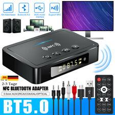 Neu NFC Bluetooth Empfänger 3.5mm AUX Buchse Hifi Wireless Adapter Audio stock