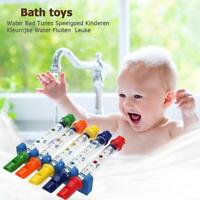1pc Water Flute Toy Baby Kids Children Music Shower Bath Tub Tunes 5 Colors Toys