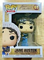 Jane Austen with Book ICONS Funko Pop Vinyl New in Box