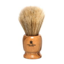 VIE-LONG HORSE HAIR SHAVE BRUSH, OLIVE WOOD HANDLE- Made in Spain VL-13070