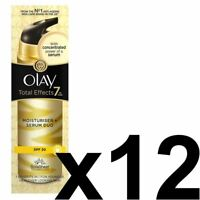 12 Olay Total Effects Feuchtigkeits & Serum 2in1 Duo SPF20 Nongreasy Formel 40ml