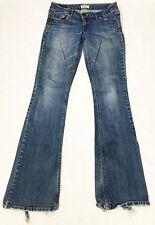 Aeropostale Long Hailey Skinny Flare Cotton Spandex Denim Jeans Medium Size 5/6