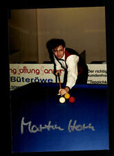 Martin Horn Foto Original Signiert Billard +A 160549
