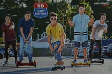 NEW DISTRICT - A3 Poster (ca. 42 x 28 cm) - YouTube Star Clippings Fan Sammlung