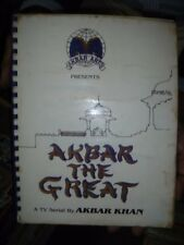 INDIA - BOOKLET - A TV SERIAL BY AKBAR KHAN - AKBAR THE GREAT - ILLUSTRATED