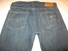 G-Star Raw Low Boot Jeans Mens Sz 33 X 28  Distressed 100% Cotton