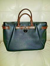Dooney Bourke Tote Samba Handbag New no tag black brown 10x17! Laptop Business