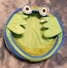 Tiny tilla frog Bath Toy Organizer - Large Storage Basket  Suction Cups