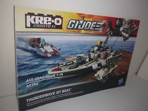 *INSTRUCTIONS ONLY* KRE-O Manual Book From Set #A2355 GI JOE THUNDERWAVE BOAT