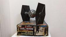 Vintage Star wars glasslite Brazil Tie  Interceptor very rare With box
