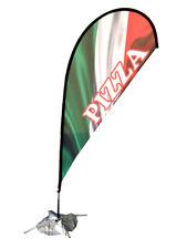 Teardrop Banner – Pizza –Instant Exposure – 2.75m tall - All machines tear drop