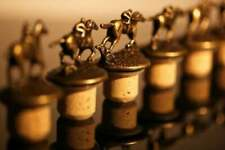 Blanton's Bourbon Complete Set of 8 Bottle Stoppers