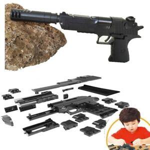 Toys guns pistol model weapon Revolver  for boys gift Desert  building blocks