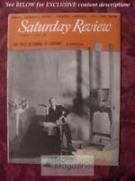 Saturday Review January 16 1954 CECIL BEATON MELVILLE CANE