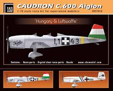 SBS Model 7012 1/72 Caudron C.600 Aiglon 'Hungary & Lufwaffe' full resin kit