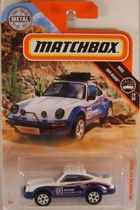 MATCHBOX #65 '85 Porsche 911 Rally, 2019 issue (NEW in BLISTER)