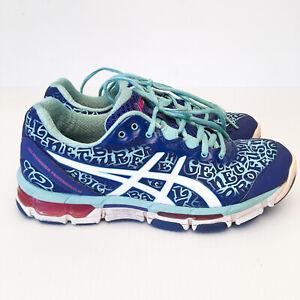 Asics Gel Netburner Professional 12 Womens Netball Shoes US 7.5 Runners/Sneakers