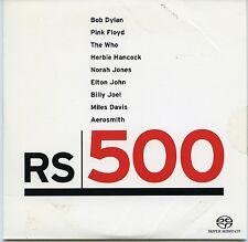 RS500 Audio CD Sampler Promo SACD DSD Bob Dylan Pink Floyd The Who Elton John