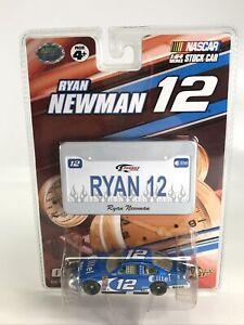Ryan Newman Alltel #12 Winners Circle 1:64 NASCAR Dodge W/ Mini License Plate