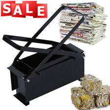 Recycle Paper Briquette Log Maker for Fire Stove BBQ Newspaper Brick AU Stock