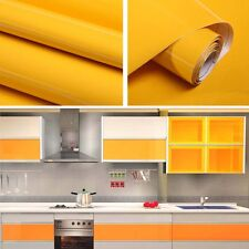 Gloss Kitchen Unit Vinyl Cupboard Cover Up Film Fablon Self Adhesive Vinyl