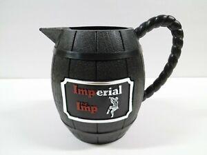 Imperial The Imp Whiskey Pitcher Vintage Plastic Whisky Pub Jug Barrel