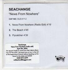 (DG312) Seachange, News From Nowhere - 2004 DJ CD