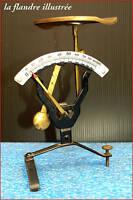 joli pèse lettre - balance à cadran émaillé