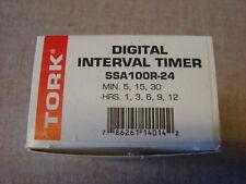 TORK Digital Interval Timer SSA100R-24 24VAC New)
