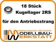 KUGELLAGER SET Ansmann Virus 3.0 2.0 RTR KIT Terrier Brushless Short Course