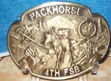 AWARD DESIGN MEDALS PACKHORSE 4TH FSB FORWARD SUPPORT BATTALION