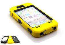 résistant pour Ouvriers couleur jaune CAS DE BLINDAGE POUR IPHONE 4,4G,4S,4S